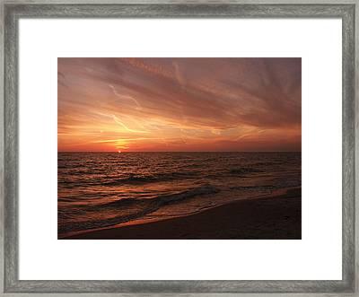 Sky Lines Framed Print