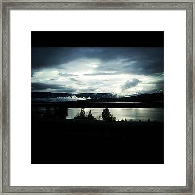 Sky Of Awesomeness Framed Print