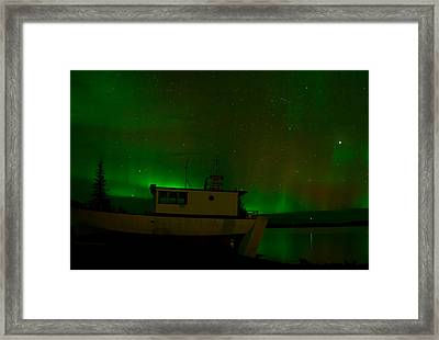 Sky Of Green Framed Print