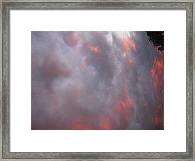 Sky Of Night Framed Print by Casper WithLove