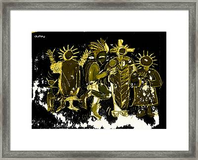 Sky People 5 Framed Print