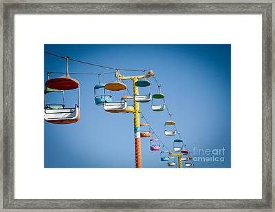 Sky Seats Framed Print by David Taylor