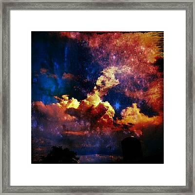 Sky Series #sky #sky_series Framed Print