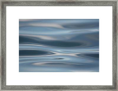 Framed Print featuring the photograph Sky Waves by Cathie Douglas