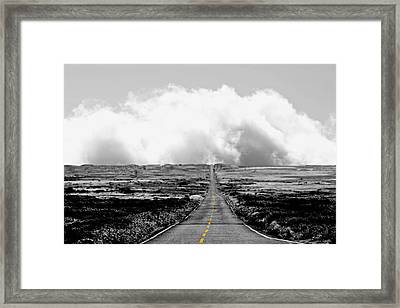 Sky Way Framed Print by Gabriel Calahorra