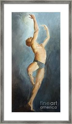 Skybound Framed Print by Ann Radley