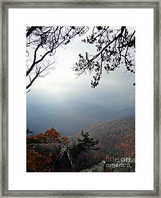 Skyline 3  Shenandoah National Park Framed Print