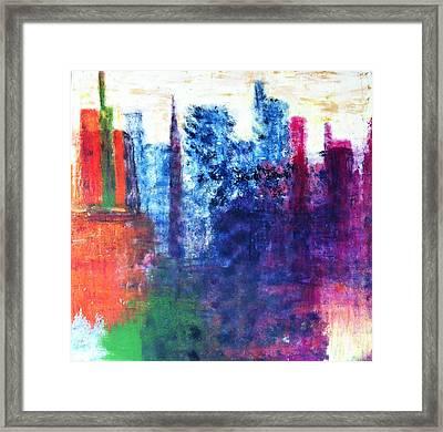 Skyline Framed Print by Kristine Bogdanovich