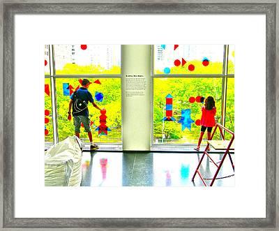 Skyline Framed Print by Marwan George Khoury