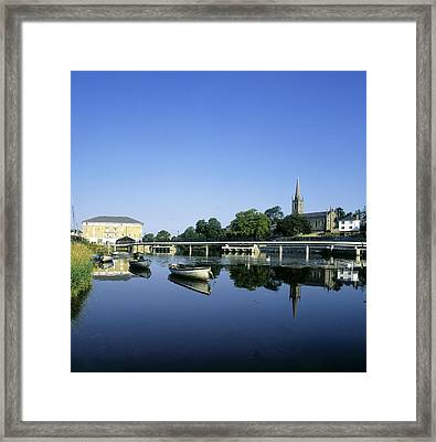 Skyline Over The River Garavogue, Sligo Framed Print by The Irish Image Collection