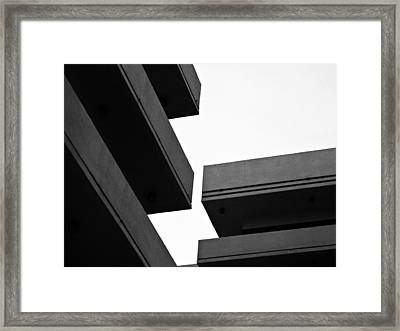 Skylines Framed Print