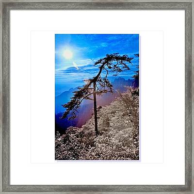 #sky_perfection #ic_landscapes #ic_sky Framed Print