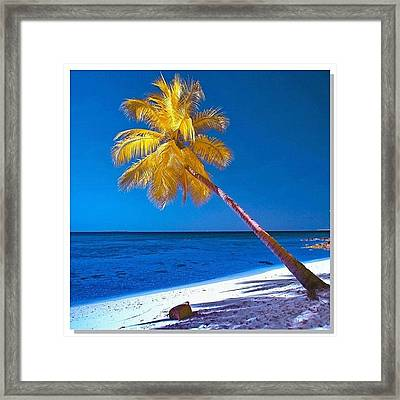 #sky_perfection #ic_landscapes Framed Print