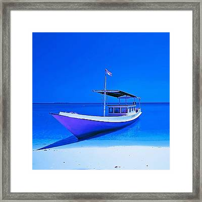#sky_perfection #instanusantara Framed Print