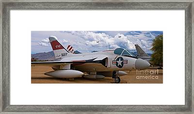 Skyray And Hawgs Framed Print by Tim Mulina