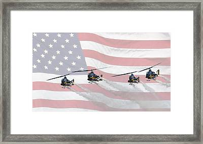 Skysoldiers Framed Print