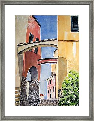 Skyward Framed Print by Regina Ammerman
