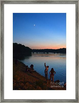 Skywatchers Framed Print by Sue Stefanowicz