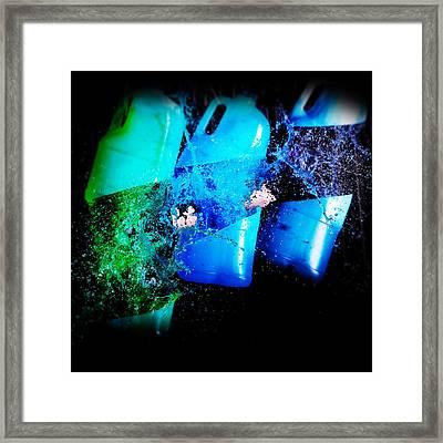 Slash Framed Print by Tim Nichols