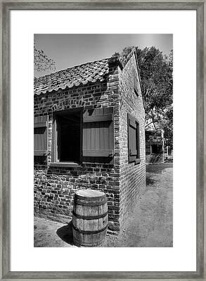 Slave Cabins Framed Print by Steven Ainsworth