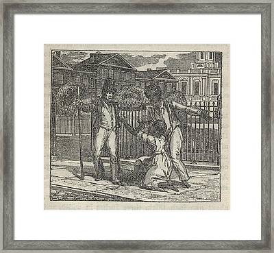 Slave Henry Bibb Was Assigned Find Framed Print