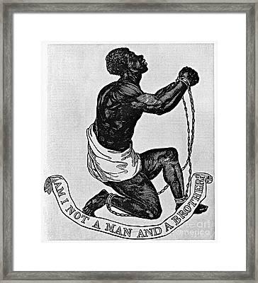 Slavery: Abolition, 1835 Framed Print