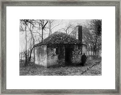 Slavery, Original Title Relics Framed Print