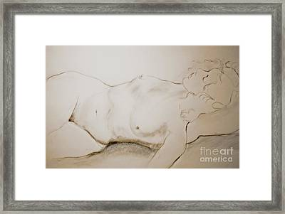 Sleep Framed Print by Rory Sagner