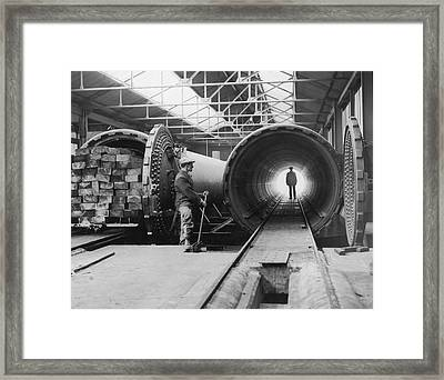 Sleeper Works Framed Print by Harry Todd