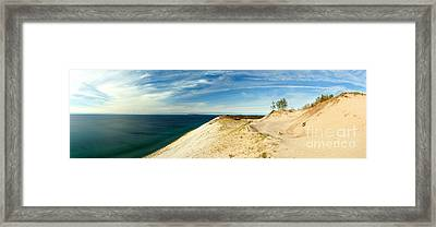 Sleeping Bear Dunes Framed Print