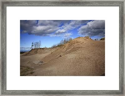 Framed Print featuring the photograph Sleeping Bear Dunes by Patrice Zinck