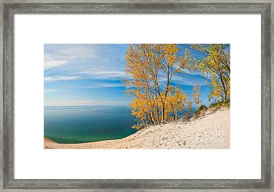 Sleeping Bear Dunes Vista 001 Framed Print