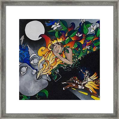 Sleeping Beauty Framed Print by Eliza Furmansky