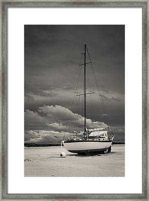 Sleeping Boats Framed Print