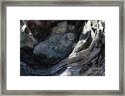 Sleeping Giant Framed Print by Jane Whyte