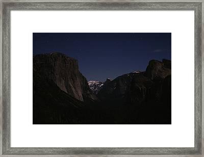 Sleeping Giants Framed Print