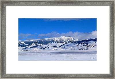 Framed Print featuring the photograph Sleeping Indian by Eric Tressler
