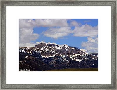 Sleeping Indian Framed Print