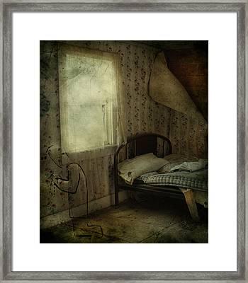 Sleepless Prayers  Framed Print by Jerry Cordeiro