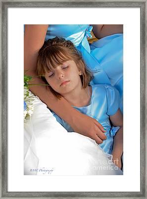 Sleepy Framed Print