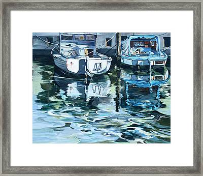 Sleepy Harbor 2 Framed Print
