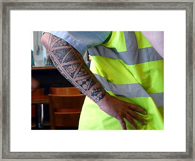 Sleeves Framed Print by Rdr Creative