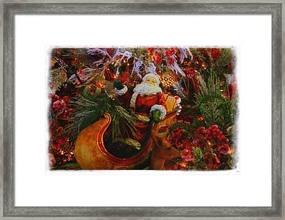 Sleigh Ride Framed Print by Toni Hopper