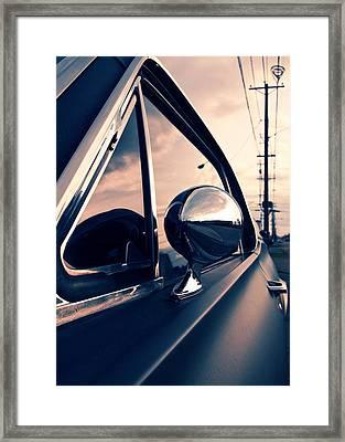 Slick As A Bullet Framed Print by Vorona Photography