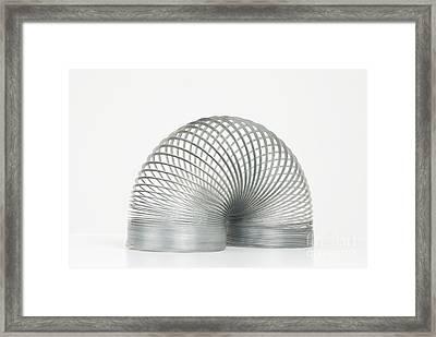 Slinky Toy Framed Print