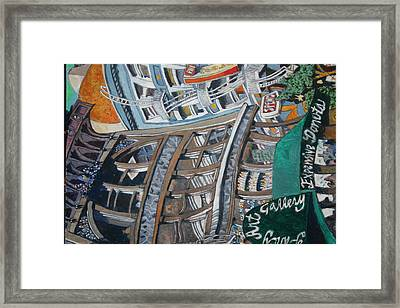 Slippery Scape Framed Print by Joe Jaqua