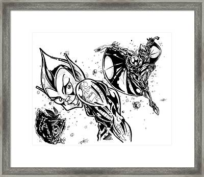 Sliverhawks Framed Print by Big Mike Roate