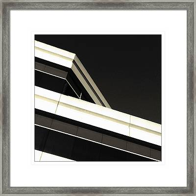 Framed Print featuring the photograph Slope by Kevin Bergen