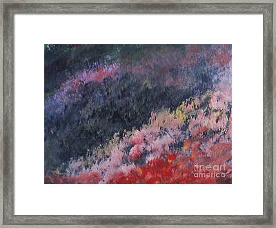 Slopes Of Romania Framed Print