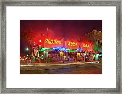Sloppy Joes Framed Print